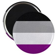 "Asexual Pride Flag 2.25"" Magnet (10 pack)"