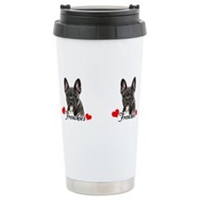 Unique French bulldog Travel Mug