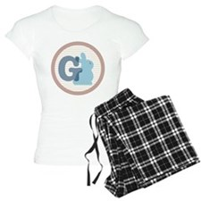 Letter G with cute bunny Pajamas
