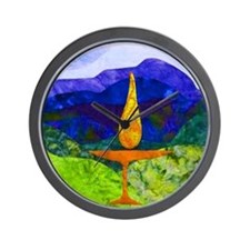 Mountain Chalice Uu Wall Clock