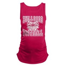 Bulldogs Football Maternity Tank Top