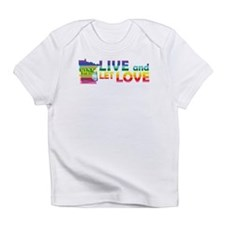 Live Let Love MN Infant T-Shirt