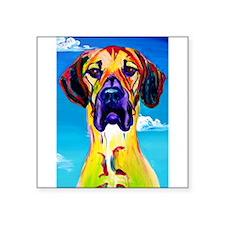 """Unique Dogs Square Sticker 3"""" x 3"""""""