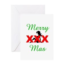 XXXmas/Naughty Greeting Card