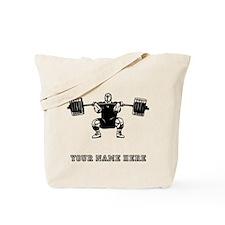 Custom Powerlifter Tote Bag