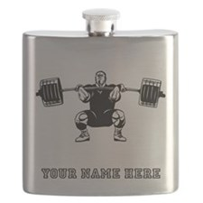Custom Powerlifter Flask