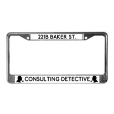 Sherlock Consulting Detective License Plate Frame