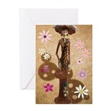 Day of dead greeting cards Greeting Cards