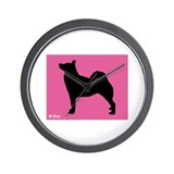 Buhund iPet Wall Clock