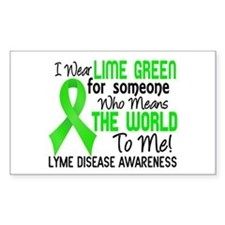 Lyme Disease MeansWorldToMe2 Decal