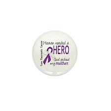 Pancreatic Cancer Heaven Ne Mini Button (100 pack)