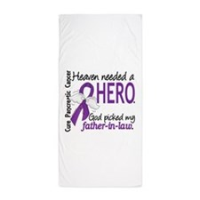 Pancreatic Cancer Heaven Needed Hero 1 Beach Towel