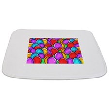 Colored Easter Eggs Bathmat