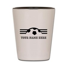 Custom Soccer Shot Glass