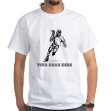 Custom Lacrosse Player T-Shirt