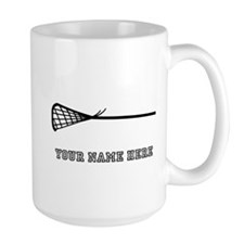 Custom Lacrosse Stick Mugs