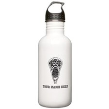 Custom Lacrosse Stick Head Water Bottle