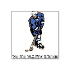 Custom Hockey Player Sticker