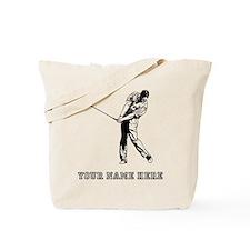 Custom Chip Shot Tote Bag