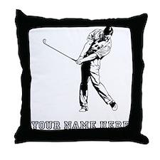 Custom Chip Shot Throw Pillow