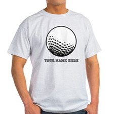Custom Golf Ball T-Shirt