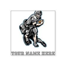 Custom Football Sticker