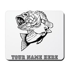 Custom Bass Mousepad