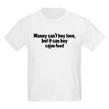 cajun food (money) T-Shirt
