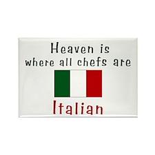 Italian Chefs Rectangle Magnet