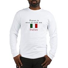 Italian Chefs Long Sleeve T-Shirt