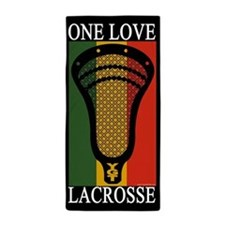 Lacrosse_OneLove.psd Beach Towel