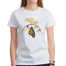 Under the DOME Four Hands and Monarch Butterfly tshirt
