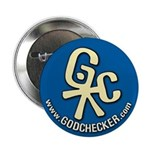 Official Godchecker promo button (ocean)