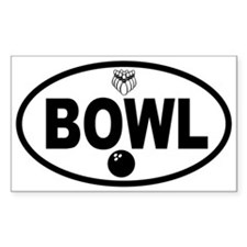 Unique Bowled Decal