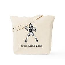 Custom Basketball Girl Tote Bag