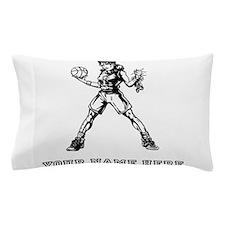 Custom Basketball Girl Pillow Case