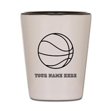 Custom Basketball Shot Glass