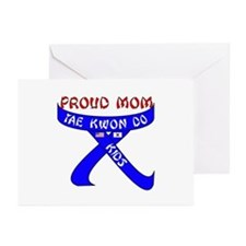 TKD Mom Kids Greeting Cards (Pk of 10)