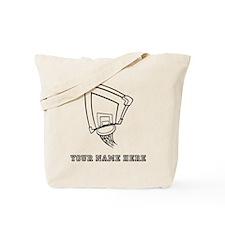 Custom Basketball Hoop Tote Bag