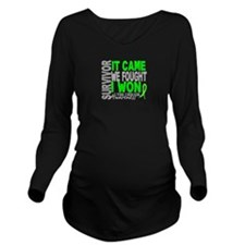 Lyme Disease Survivo Long Sleeve Maternity T-Shirt