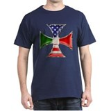 Italian American Iron Cross T-Shirt