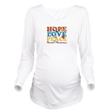 Hope, Love, Peace Autism Awareness Long Sleeve Mat