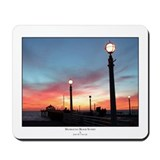 Manhattan Beach Pier Sunset 2 Mousepad