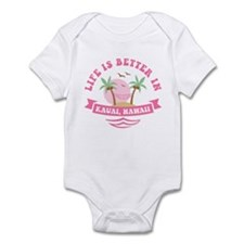 Life's Better In Kauai Infant Bodysuit