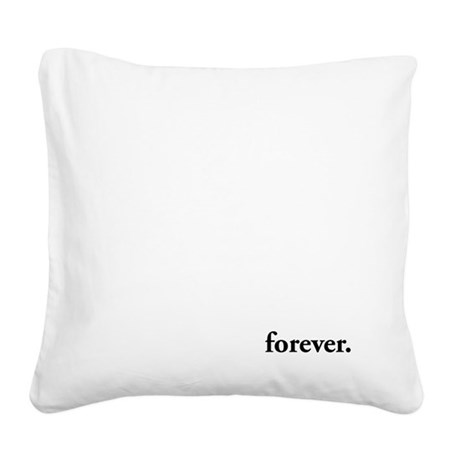 forever Twilight Square Canvas Pillow