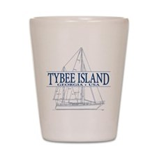 Tybee Island - Shot Glass