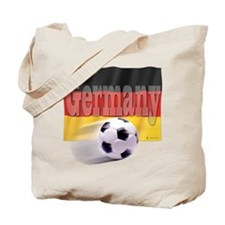 Soccer Flag Germany Tote Bag