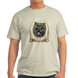 Cairn Terrier Gold Ring T-Shirt