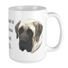 Not a home w/out drool - Mastiff Mug