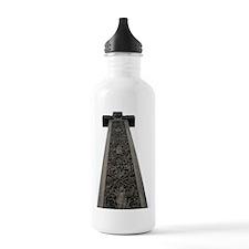 Caedmons Cross, Whitby Water Bottle